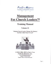 Management for Church Leaders Volume #1 Training