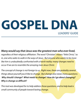 Gospel DNA: Leaders Guide